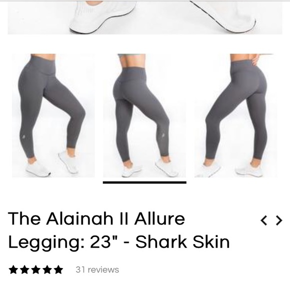 P Tula Pants Jumpsuits Ptula The Alainah Ii Allure Leggings Shark Skin Poshmark I absolutely love ptula active and sami bossert of course. p tula the alainah ii allure leggings shark skin